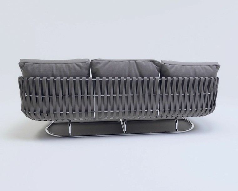 sofa interior exterior pies acero inoxidable ideas moderna