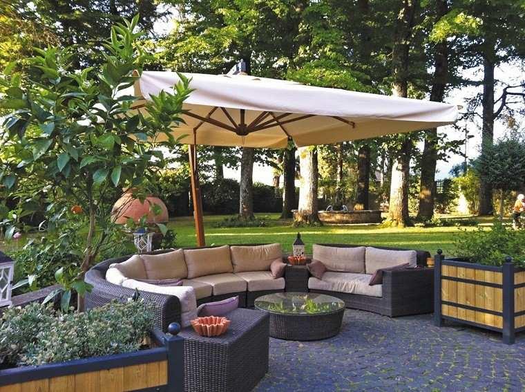 Sombrillas jardín - para los días soleados de verano -
