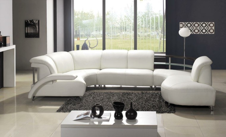 Sofas modernos   diseños increíbles para el hogar.