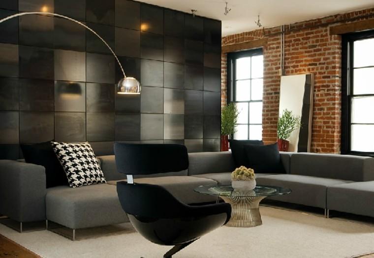Sala de estar para apartamento de soltero todo un lujo for Aptos modernos