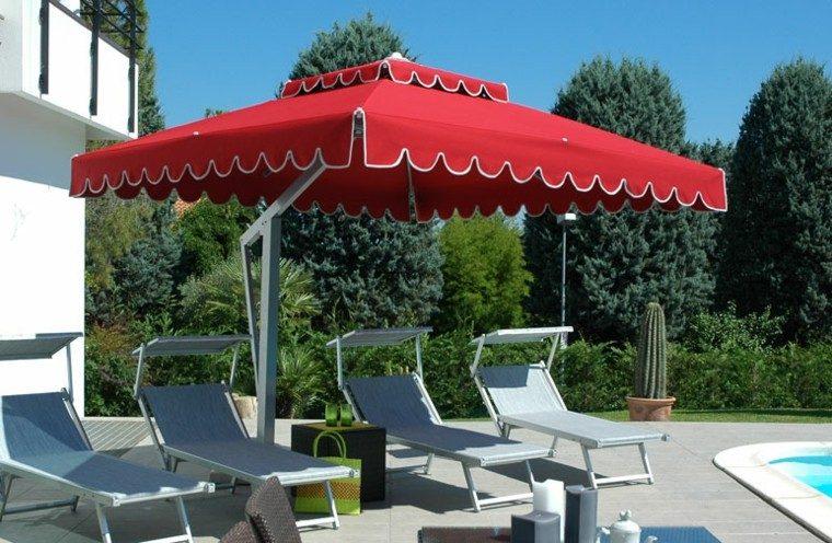 Parasoles jardin sombras refrescantes para el verano for Sombrillas jardin carrefour