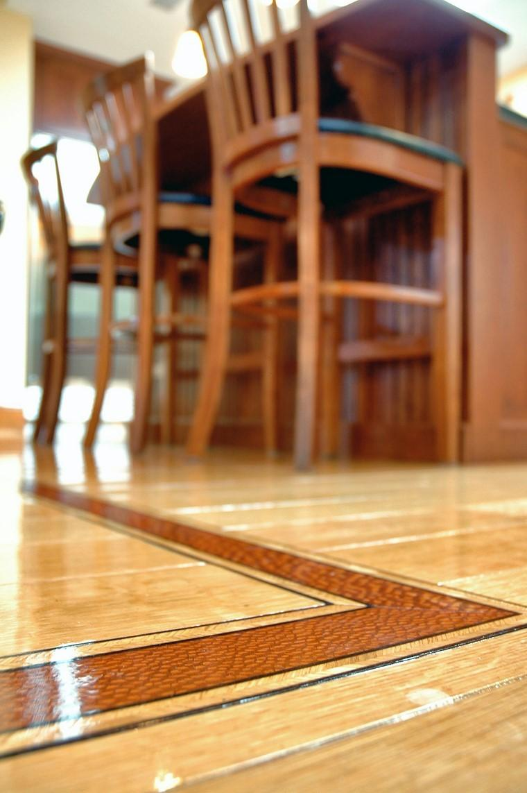 suelo madera brillante laca ideas diseno