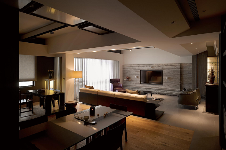 La naturaleza inspira el dise o de estos hogares asiaticos for Interni minimalisti