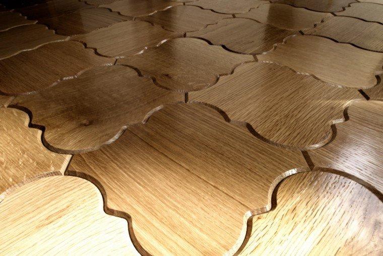 suelo madera interior ideas originales moderno diseno