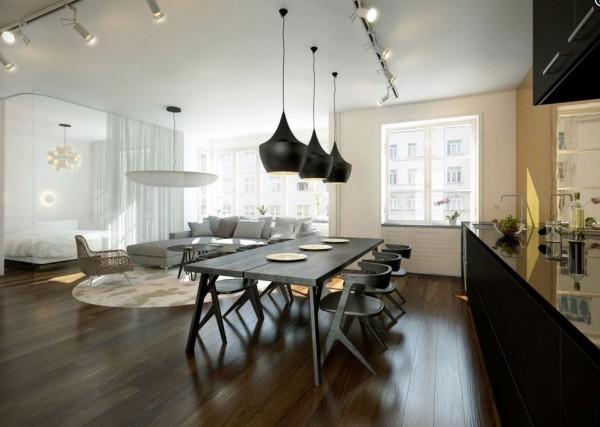 mesas de cocina estilo industrial