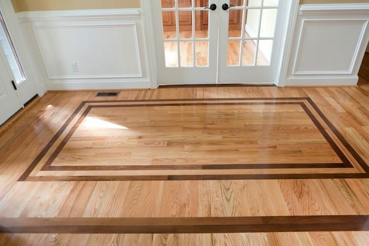 suelos de madera ideas decorar casa moderna