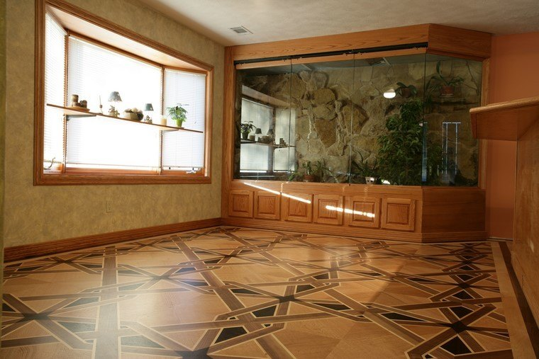 suelos de madera ideas originales decorar hogar modernos