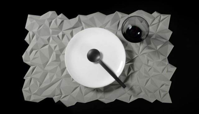 tabla servir moderna elegante ideas blanca original