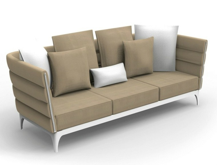 talenti sofas color beige blanco