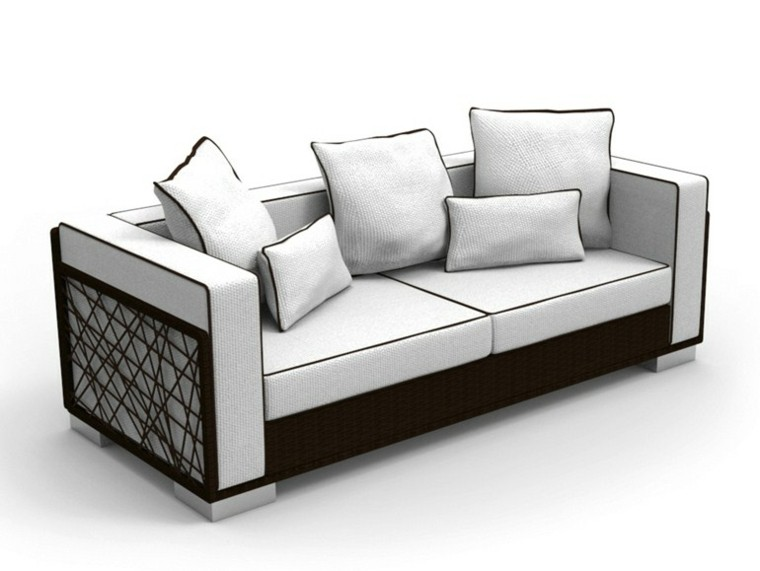 talenti spider coleccion sofa blanco