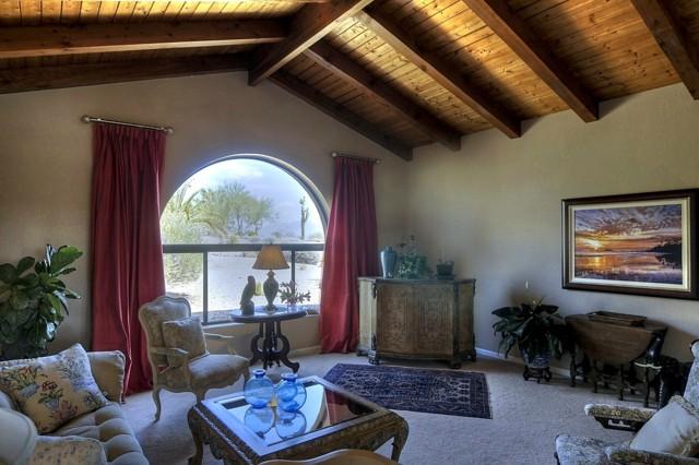 techo de madera salon estilo diseño rustico