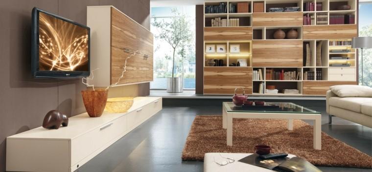 tecnología moderna salon luminoso muebles ideas comodos
