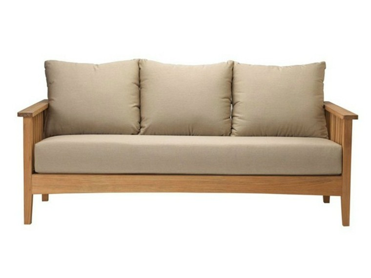 tectona color beige sofa madera