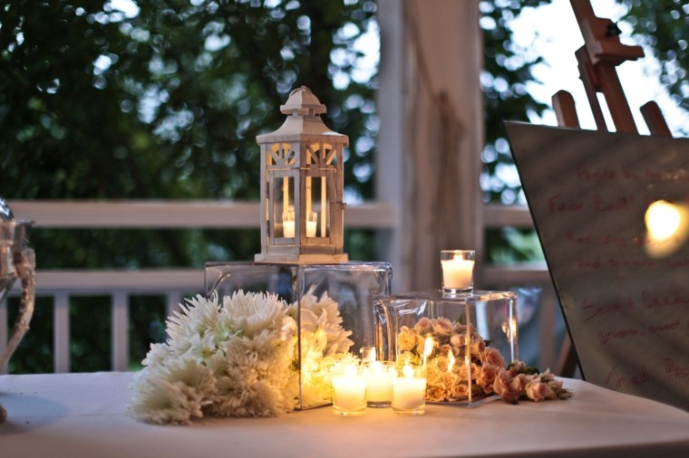 terraza velas romantica iluminacion ideas decoracion
