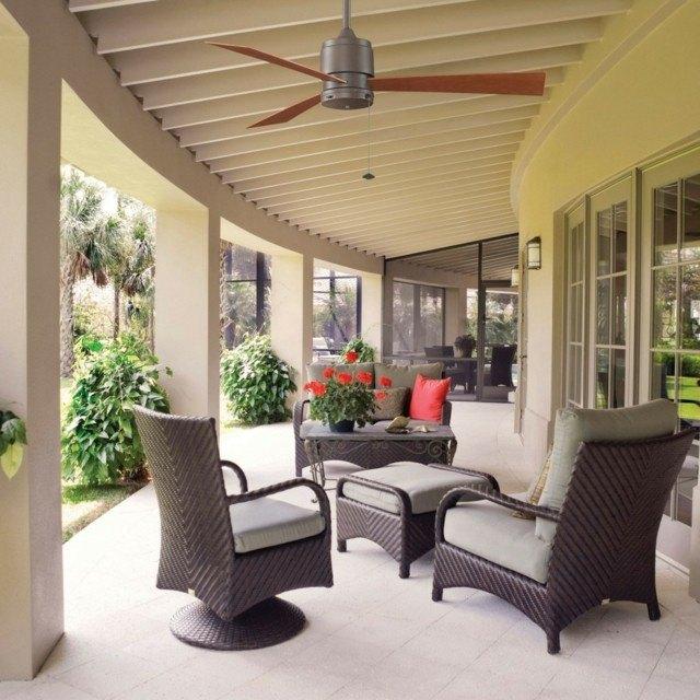 terrazas estilo minimilista muebles bonitos moderna comodos