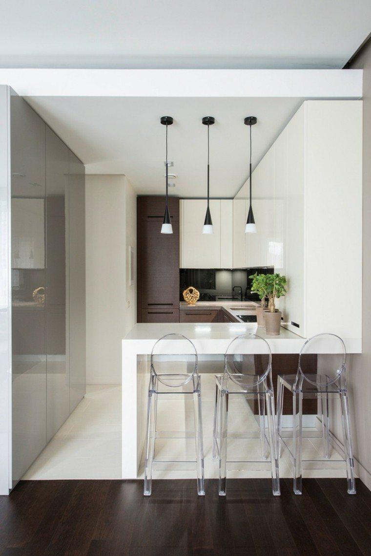 tiempos modernos y muebles cocina lamparas plantas