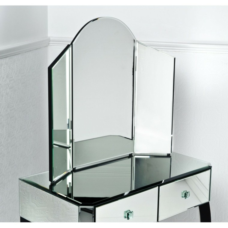 tocador espejo decorativo cristal moderno