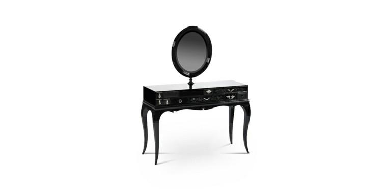 tocador modelo melrose color negro