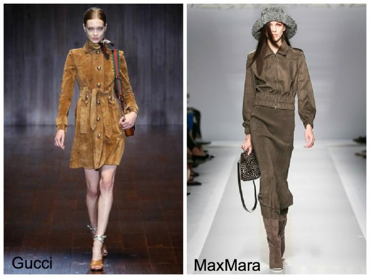 tonos marrones la moda primavera