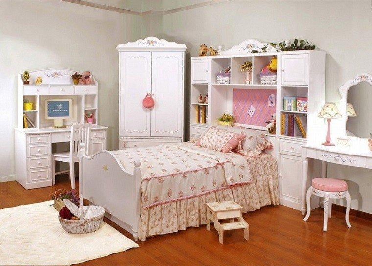tradicional dormitorio decoracion madera muebles