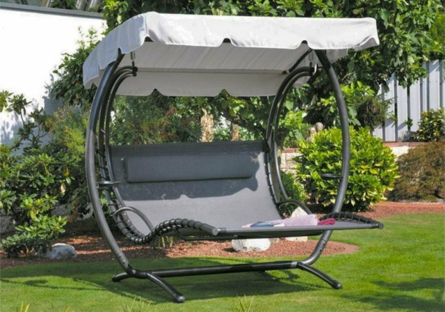 tumbona columpio ideal jardin moderna relajacion