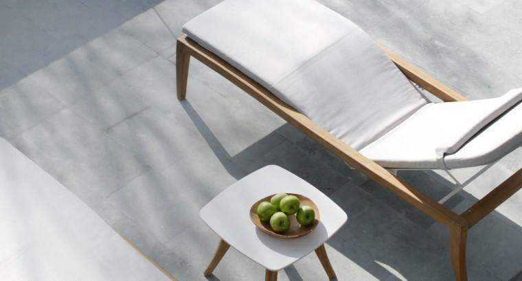 tumbona estilo minimalista maderas teca