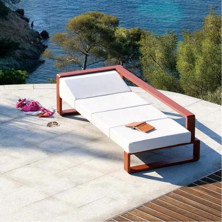 tumbona sofa canape moderno jardin