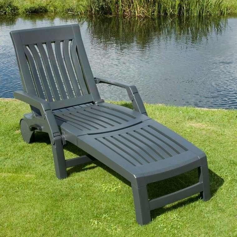 Tumbonas jardin y relax ideas para disfrutar del buen tiempo - Muebles plastico jardin ...