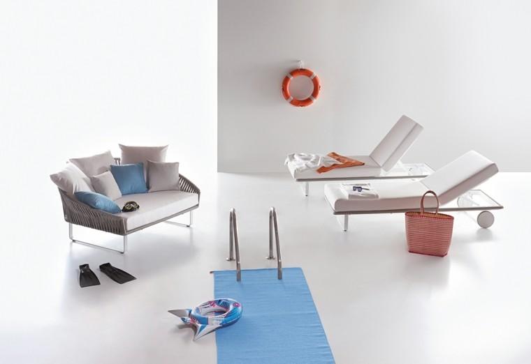 tumbonas sofa exterior diseños muestra