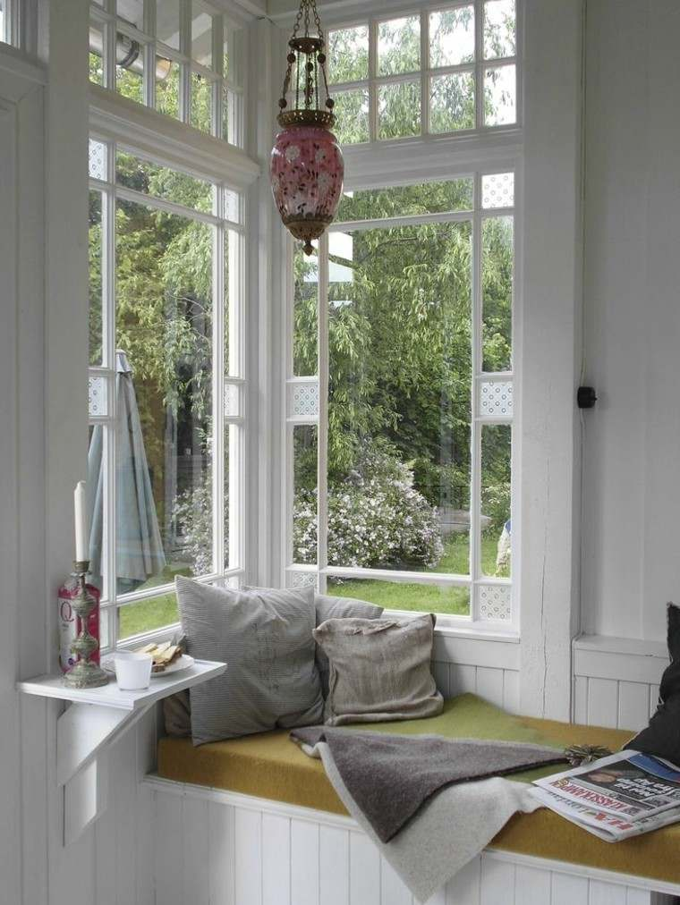 ventanas cojines revista jardin patio