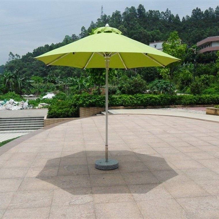 verde lima sombrilla pequeña patio