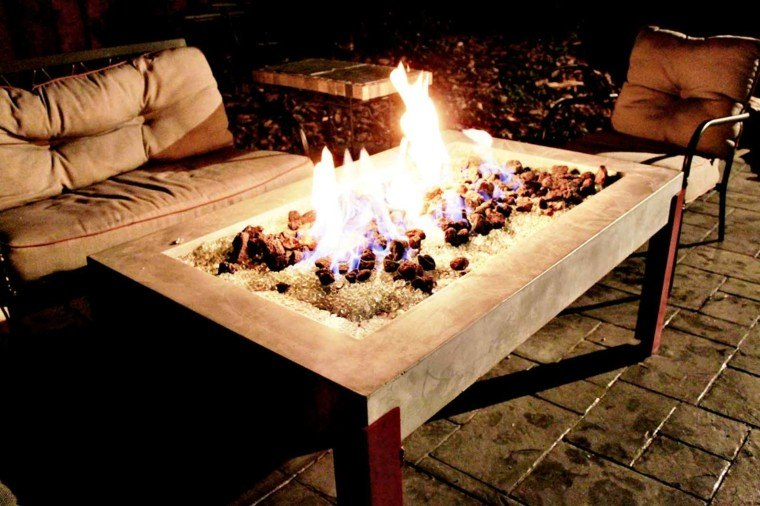 zen mesa lugar fuego idea interesante