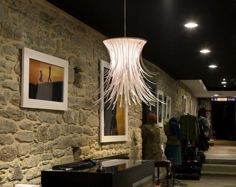 Lámparas de techo ideas modernas para el interior