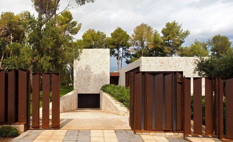 Casa El Bosque entrada vallas