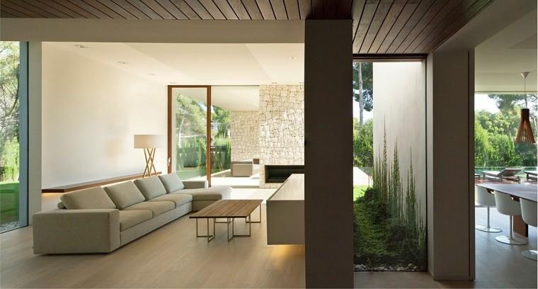Casa   Bosque diseño salon