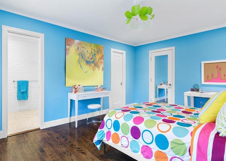 Pintura para habitaciones juveniles hombres - Colores pintura dormitorio ...