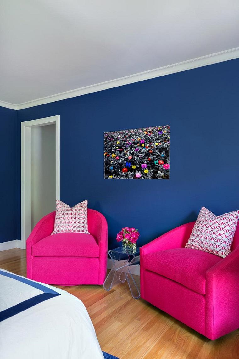 Dormitorios juveniles 100 ideas para tu adolescente - Paredes de habitaciones ...