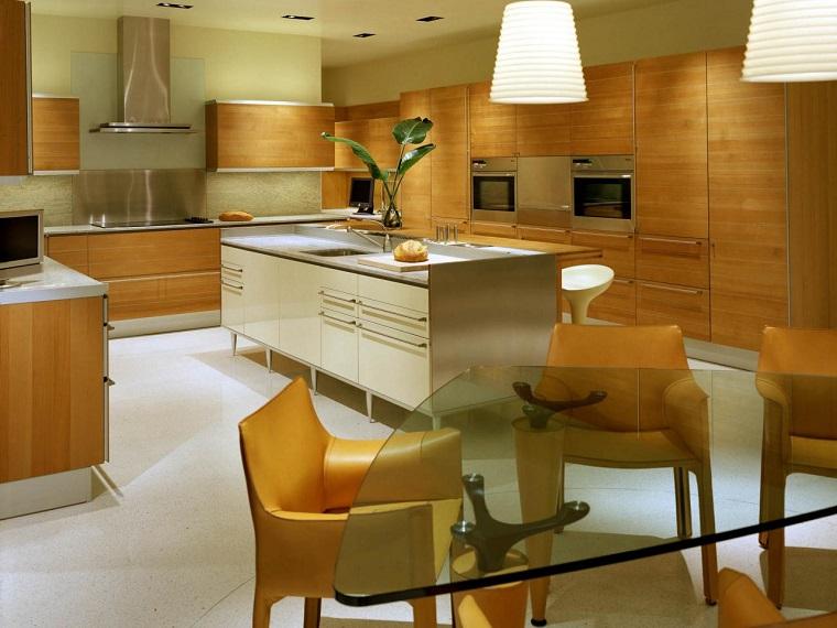 Muebles vintage en la cocina ideas a lo cl sico muy for Colores para cocina comedor