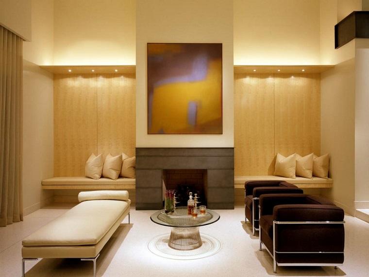 Jamie Herzlinger colores neutrales muebles paredes ideas
