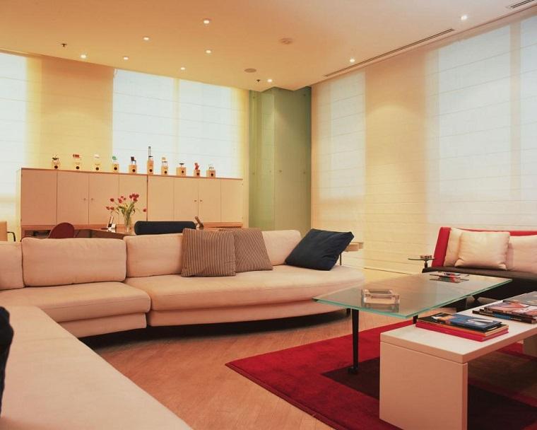 Jerry Jacobs salon moderno colores claros ideas