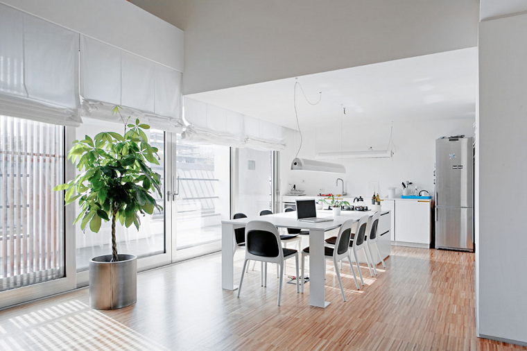 Roberto Murgia arquitectura casa comedor amplio ideas