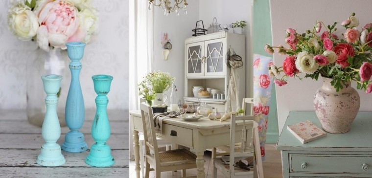 shabby chic decoraciones casa bonitas ideas