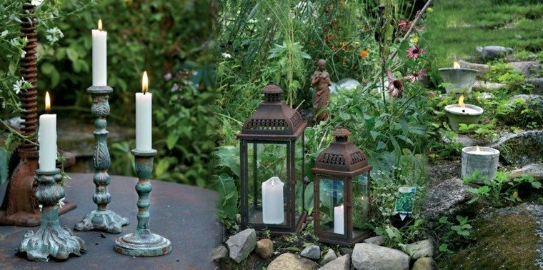 Accesorios jardin   adornos, muebles y luces de exterior