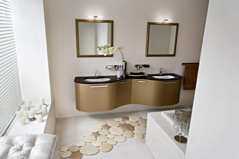 Baño Romantico Ideas:alfombra bano preciosa velas estilo romantico ideas