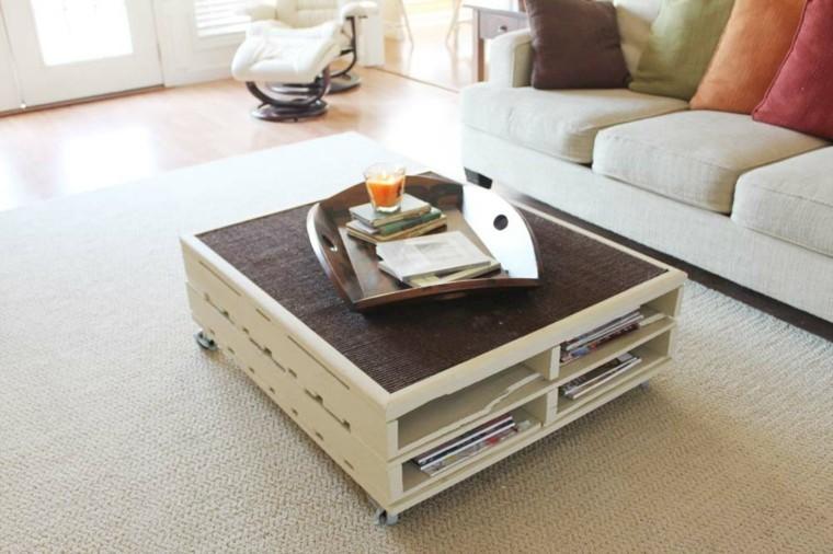 alfombra crema elegante mesa cojines
