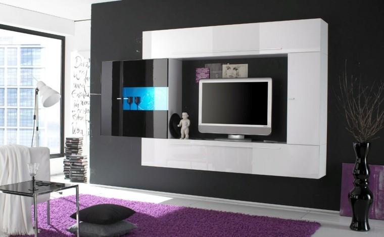 alfombra rosa salon moderno seccion