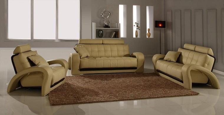 alfombra sillon crema lampara moderno