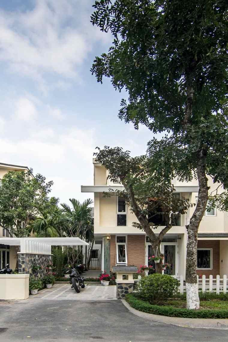 arquitectura casa vietnam funcional calle