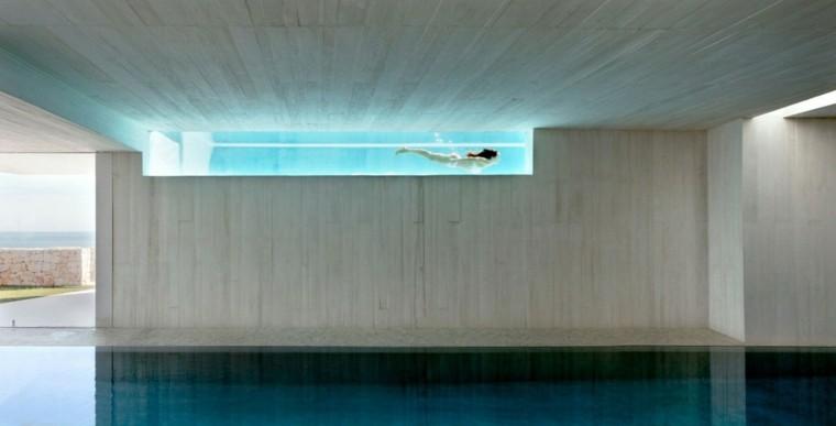 arquitectura original piscinas casa Sardinera preciosa