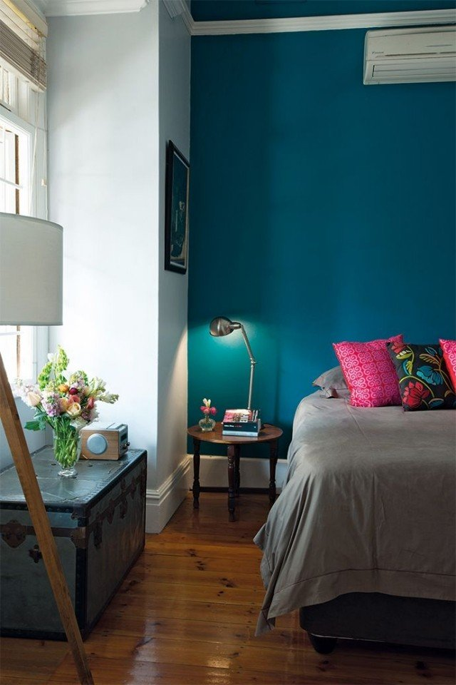 Paleta de colores para el dormitorio es hora de un cambio - Colores azules para paredes ...
